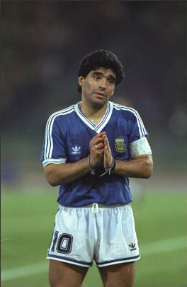 It wasn't Maradona's tournament, and all opponents made sure of eliminating him from the games Argentina played. Maradona was by far the most tackled player and only in short flashes did he show his brilliance, most notably against Brazil in the second round.